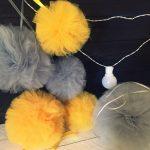 Pompony tiulowe – DIY, inspiracje