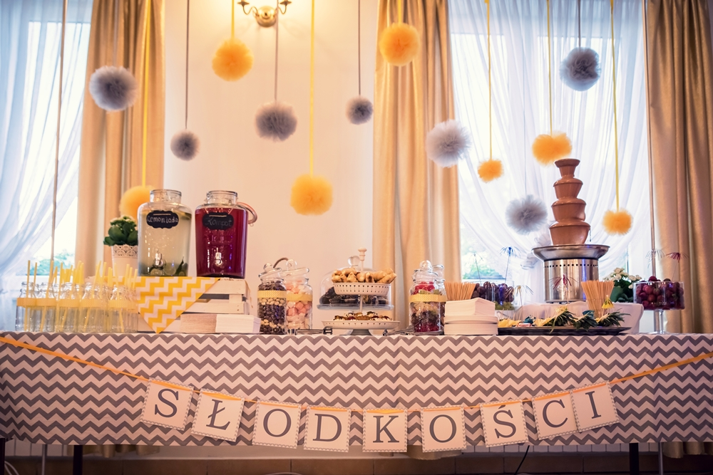słodkości na słodki stół